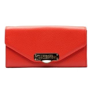 Versace Oro Chiaro Chain Crossbody Leather Handbag - Multi - S