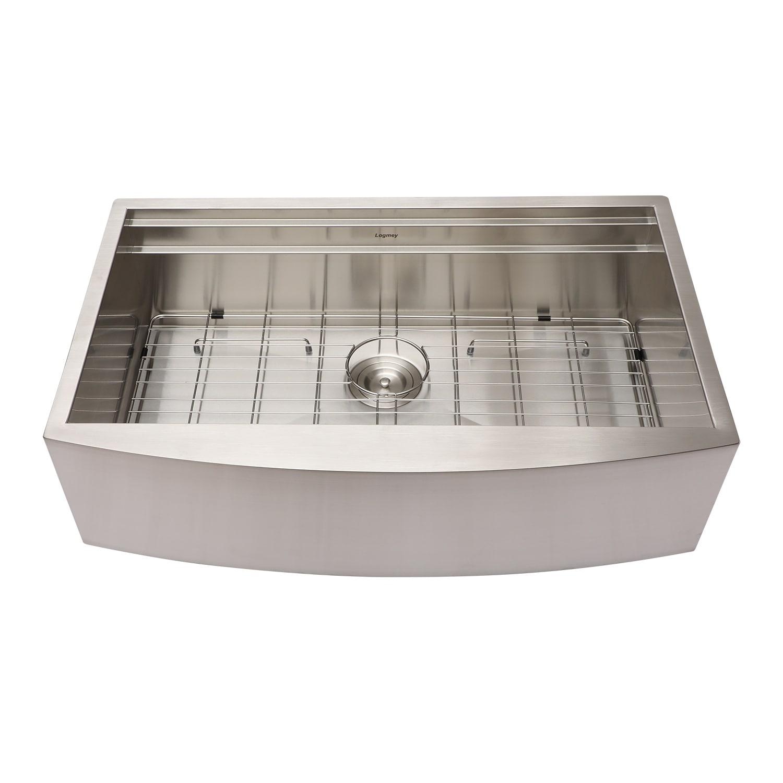 Shop 30 Inch Farmhouse Sink Stainless Steel Workstation Kitchen Sink On Sale Overstock 31296413