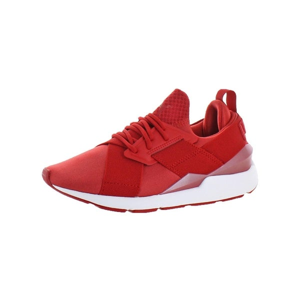Puma Womens Muse Satin EP Pearl Casual Shoes Athleisure Fashion. Click to  Zoom 5ff6518c6