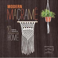 - Modern Macrame Book & Kit