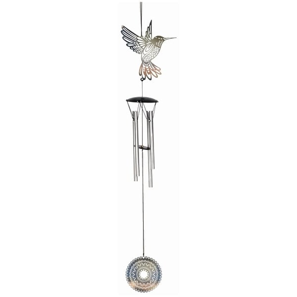 Spoontiques 10556 hummingbird wind chime