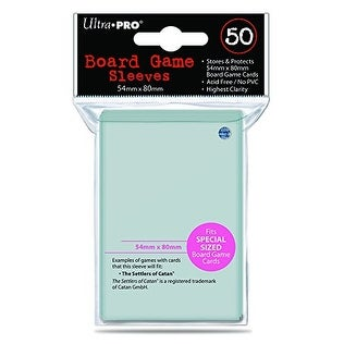 Ultra Pro 54mm X 80mm Board Game Sleeves 50ct (for Catan)
