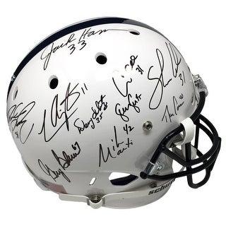 Penn State Linebacker U Signed Full Size Replica Helmet JSA Lee Ham & More