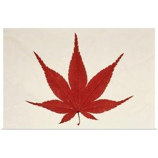 """Maple Leaf"" Poster Print"