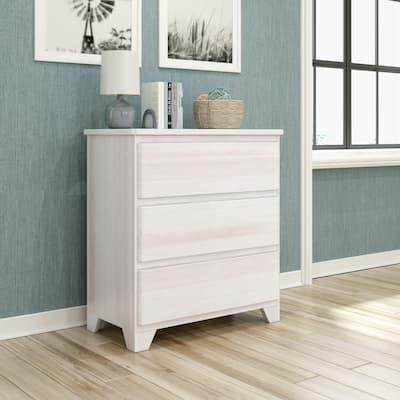 Max & Lily Farmhouse 3 Drawer Dresser