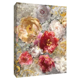 "PTM Images 9-148499  PTM Canvas Collection 10"" x 8"" - ""Roses Everlasting I"" Giclee Flowers Art Print on Canvas"