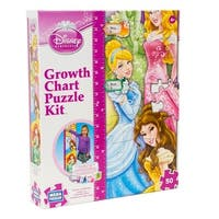 Disney Princess Growth Chart Puzzle Kit - multi-color - 12.0 in. x 2.0 in. x 10.0 in.