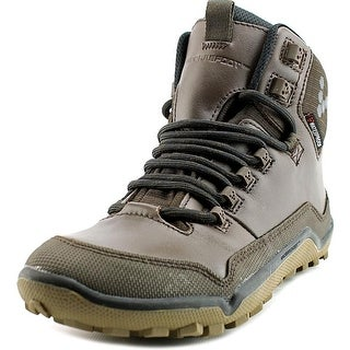 VivoBarefoot Off Road Hi Women Round Toe Synthetic Brown Hiking Shoe