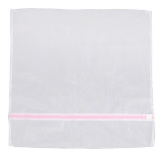 Polyester Clothes Hosiery Washing Protector Laundry Mesh Bag 60cm x 60cm