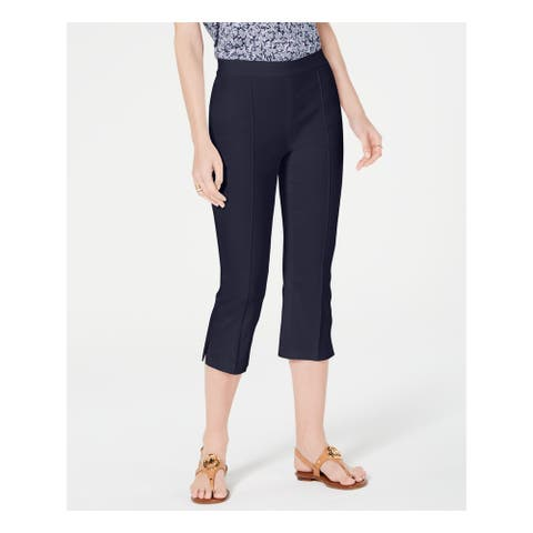 MICHAEL KORS Womens Navy Wear To Work Pants Size 2