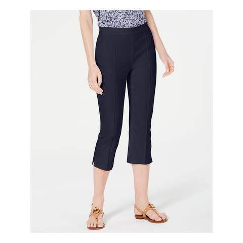 MICHAEL KORS Womens Navy Wear To Work Pants Size 6