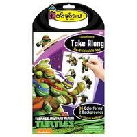 Teenage Mutant Ninja Turtles Colorforms Take Along - multi