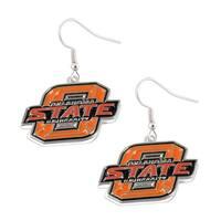 Oklahoma State Cowboys Dangle Earring Set NCAA Charm Gift