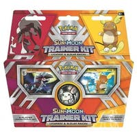 TCG Sun & Moon Trainer Kit Lycanroc & Alolan Raichu Card Game