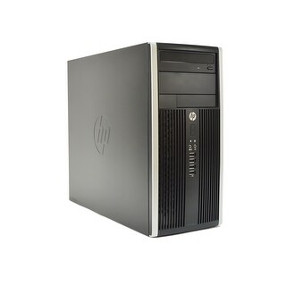 HP Compaq 6300-T Intel Core i3-2120 3.3GHz 2nd Gen CPU 8GB RAM 250GB HDD Windows 10 Pro PC (Refurbished)
