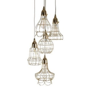 Dimond Home 225052 Gold Wire 5 Light Pendant