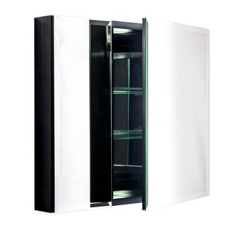 """Miseno MBC2630 Dual Mount 26"""" X 30"""" Beveled Double Door Medicine Cabinet (Surface or Recessed Mounting)"""