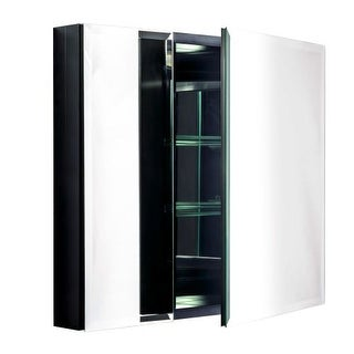 "Miseno MBC2630 Dual Mount 26"" X 30"" Beveled Double Door Medicine Cabinet (Surface or Recessed Mounting)"