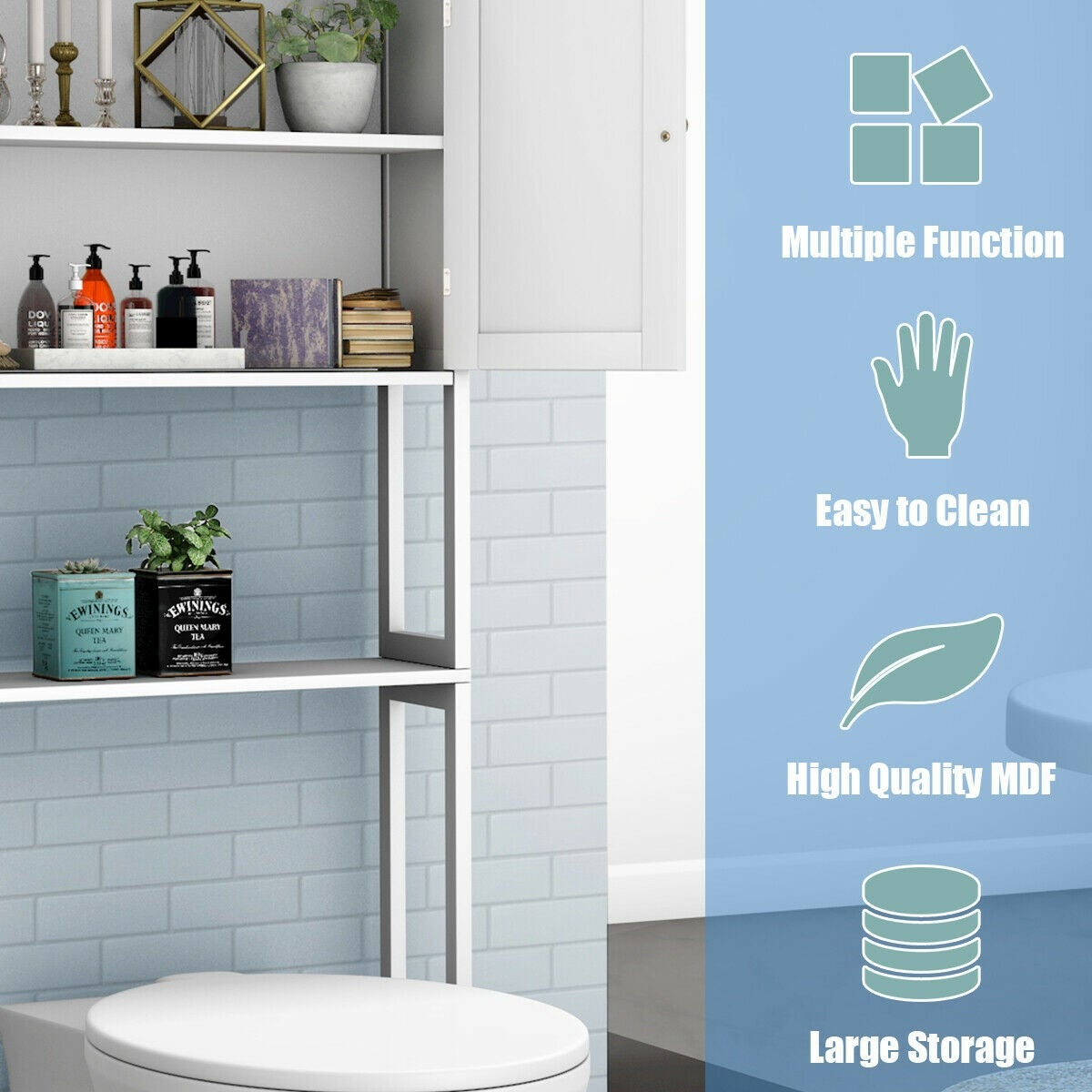 Toilet Bathroom Storage E Saver