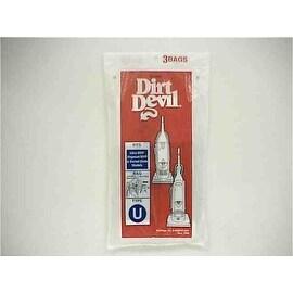 """Dirt Devil 3-920047-001 Type """"U"""" Vacuum Bags"""