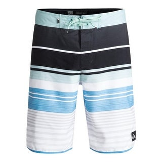 Quiksilver Mens Striped -Fly Board Shorts - 32