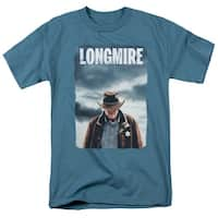 Longmire Poster Mens Short Sleeve Shirt