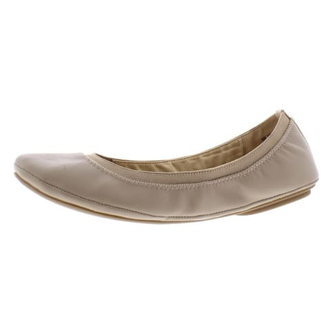 Bandolino Womens Edition Ballet Flats Stretch Round Toe