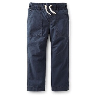 Carter's Baby Boys' Ripstop Pants - Navy