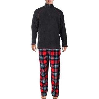 Weatherproof Mens 2PC Fleece Pajama Set
