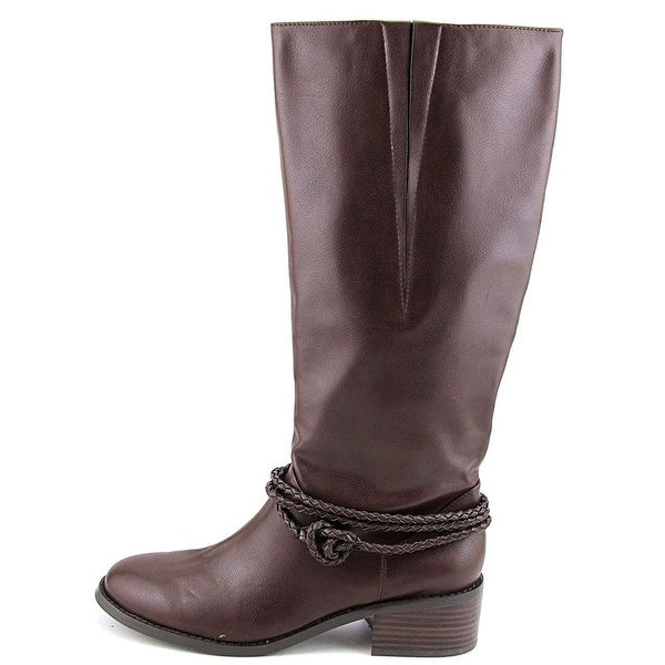 Ann Marino Womens Vane Closed Toe Knee High Fashion Boots