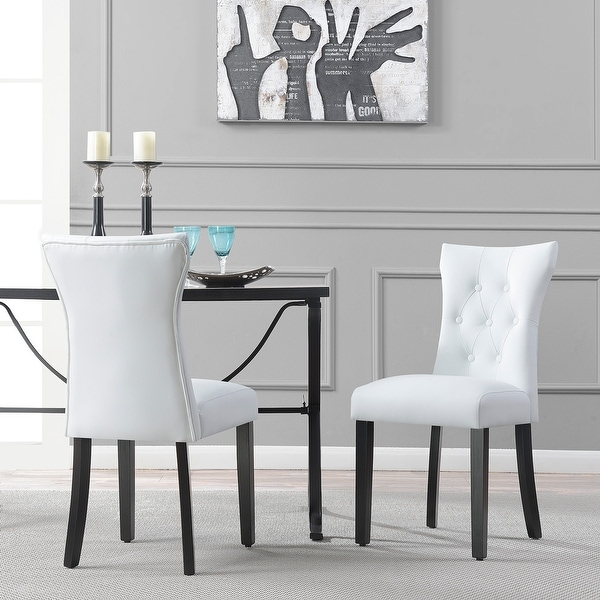 Shop Dining Room Chairs: Shop Belleze Elegant Upholstered Dining Modern Chairs W