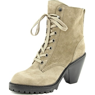 Kelsi Dagger Breda Round Toe Suede Ankle Boot