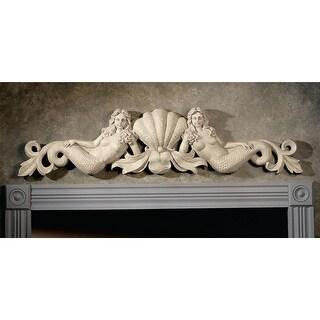 Design Toscano Mermaid Architectural Wall Pediment