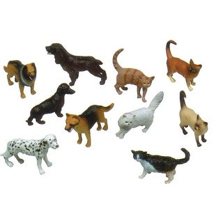 5In Pets Animal Playset Set Of 10