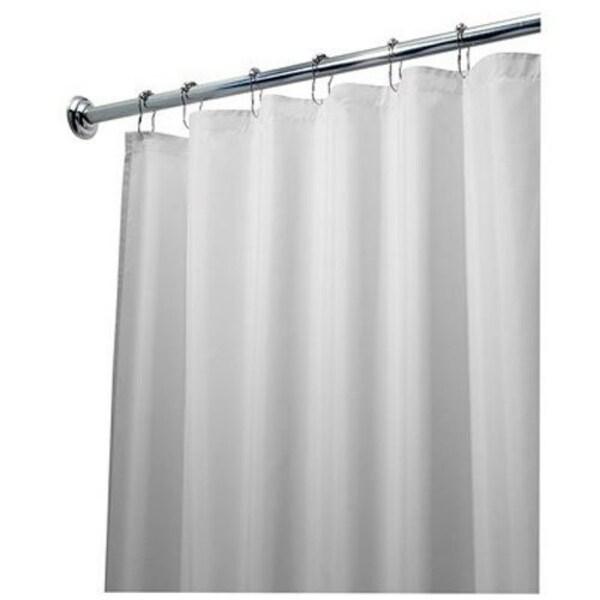 Shop Interdesign 14962 Fabric Shower Curtain Liner 72 X 84 White
