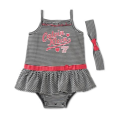 Calvin Klein Girls 2-Piece Set Romper Jumpsuit