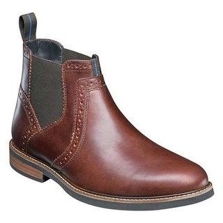 803eeeb4efc5 Shop Nunn Bush Men s Otis Plain Toe Chelsea Boot Rust Leather - Free  Shipping Today - Overstock - 22864194