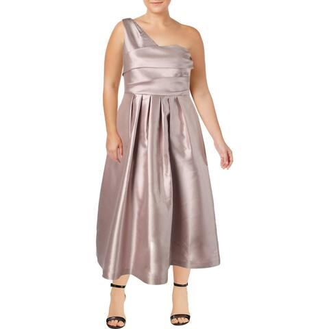 Kay Unger New York Womens Formal Dress Taffeta Evening - Blush