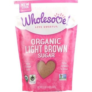 Wholesome! - Light Brown Sugar ( 6 - 24 OZ)