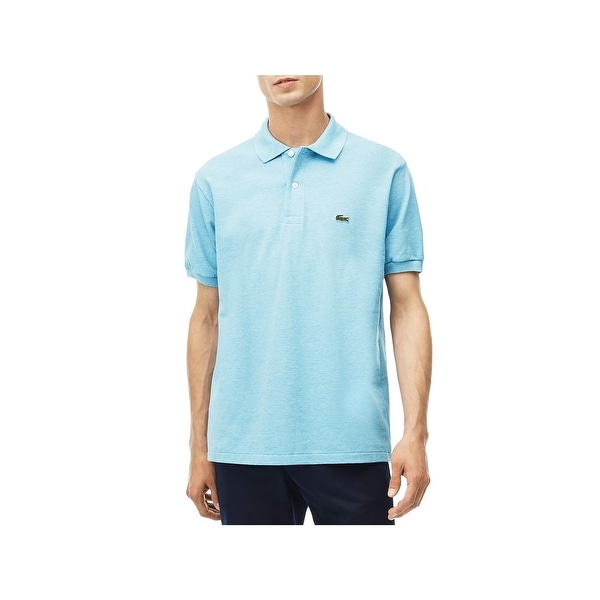 acfed77d Shop Lacoste Mens Polo Shirt Pique Classic Fit Blue XXL - Free ...