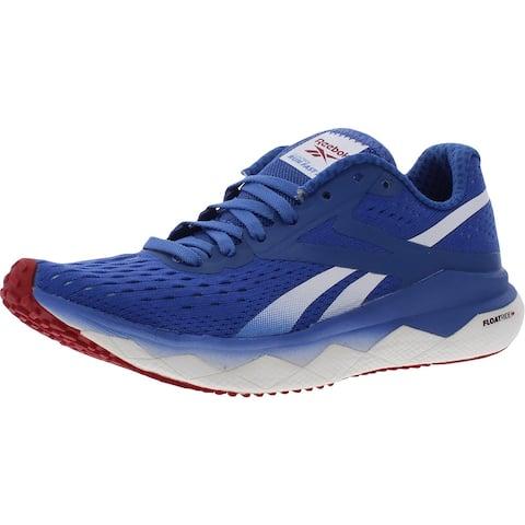 Reebok Womens Floatride Run Fast 2.0 Running Shoes Fitness Performance - Blue Blast/Legacy Red/White