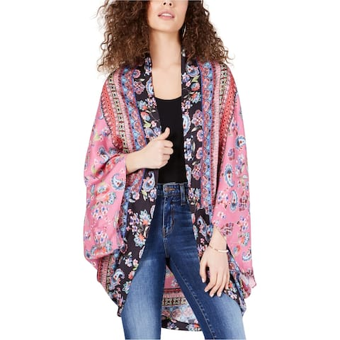 Ginger Womens Printed Cape Jacket