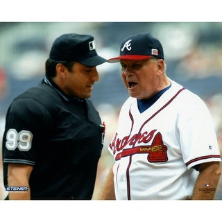 Bobby Cox Arguing With Umpire 8x10 Photo Uns
