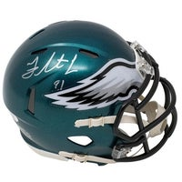 ed8383def08 Shop Wilbert Montgomery Signed Philadelphia Eagles Green Throwback ...