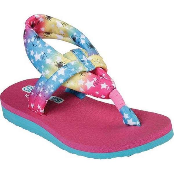 a9331c395c1c Shop Skechers Girls  Meditation Star Gazing Thong Sandal Multi - On Sale -  Free Shipping On Orders Over  45 - Overstock - 26975587