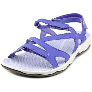 Easy Spirit Yamini Women W Open-Toe Synthetic Purple Sport Sandal