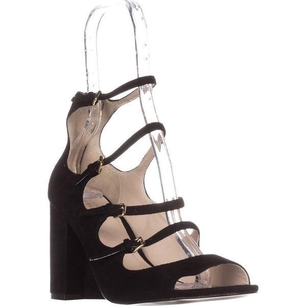 Cole Haan Cielo High-Heel Sandals, Black Suede - 9.5 us