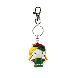 Street Fighter X Sanrio Mobile Key Chain Cammy - Multi