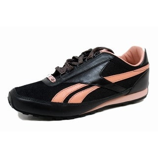Reebok Women's SJ Retro Aztec Leather 1 Black/Pearl Pink 1-181624