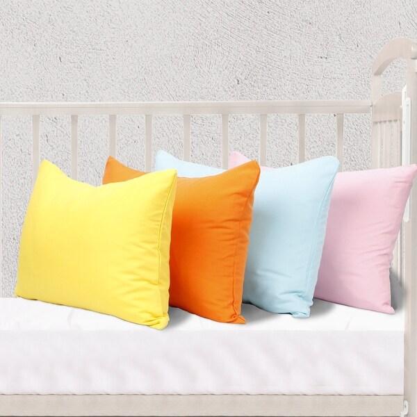 NTBAY Microfiber Toddler Pillowcases, 2 Pcs Zipper Closure Travel Pillow Covers